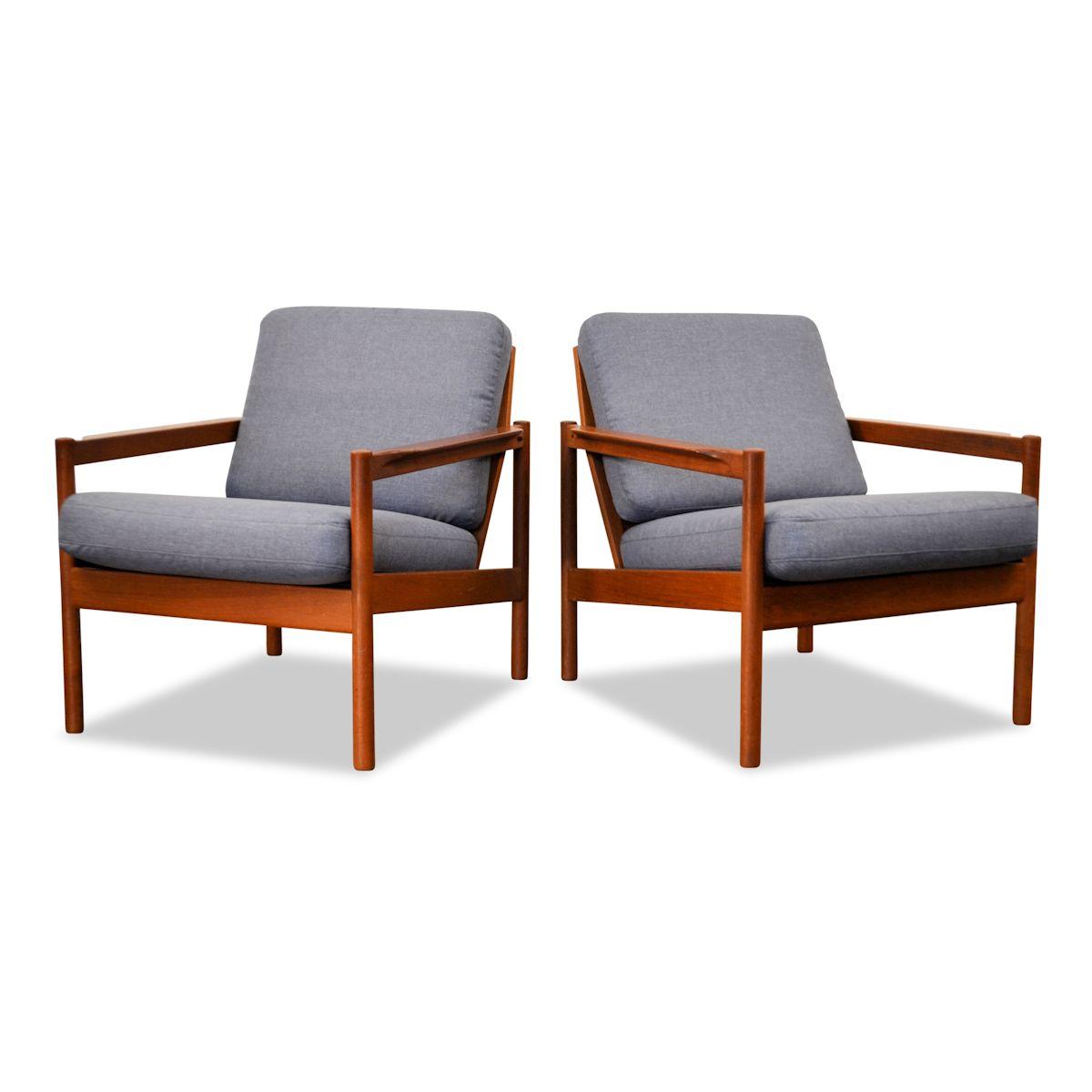 Vintage Easy Chairs by Kai Kristiansen