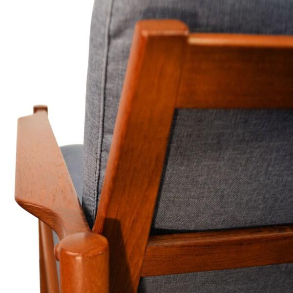 Vintage Easy Chairs by Kai Kristiansen - detail