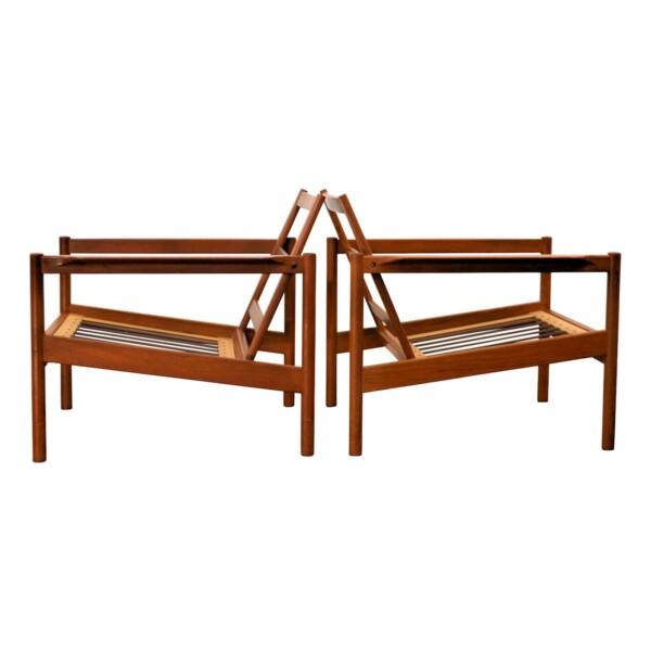 Vintage Easy Chairs by Kai Kristiansen - frame