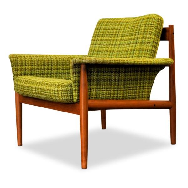 Vintage Grete Jalk Deens design teak fauteuil