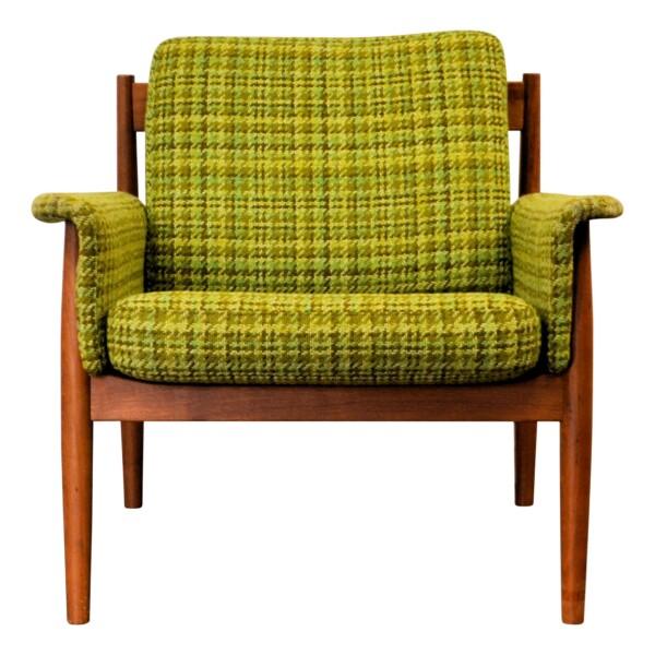 Vintage Teak Lounge Chair by Grete Jalk - front