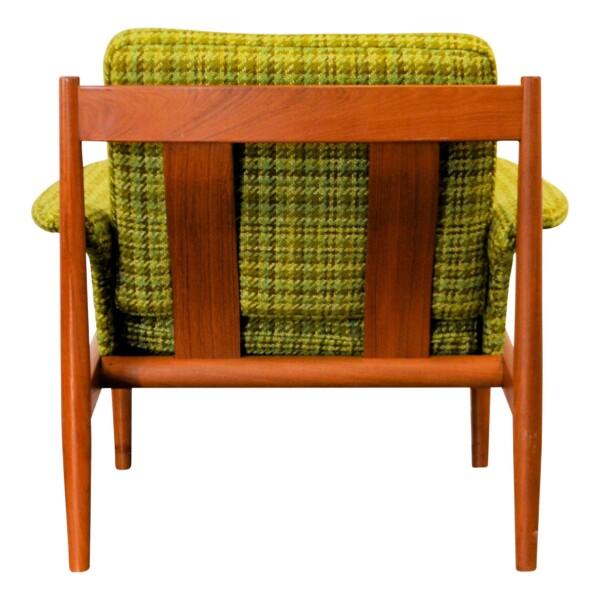 Vintage Teak Lounge Chair by Grete Jalk - back