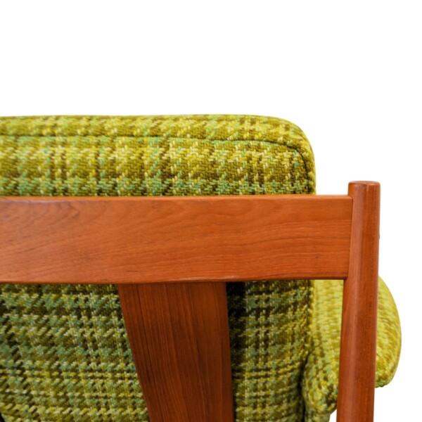 Vintage Teak Lounge Chair by Grete Jalk - detail
