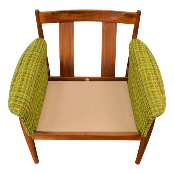 Vintage Teak Lounge Chair by Grete Jalk - frame