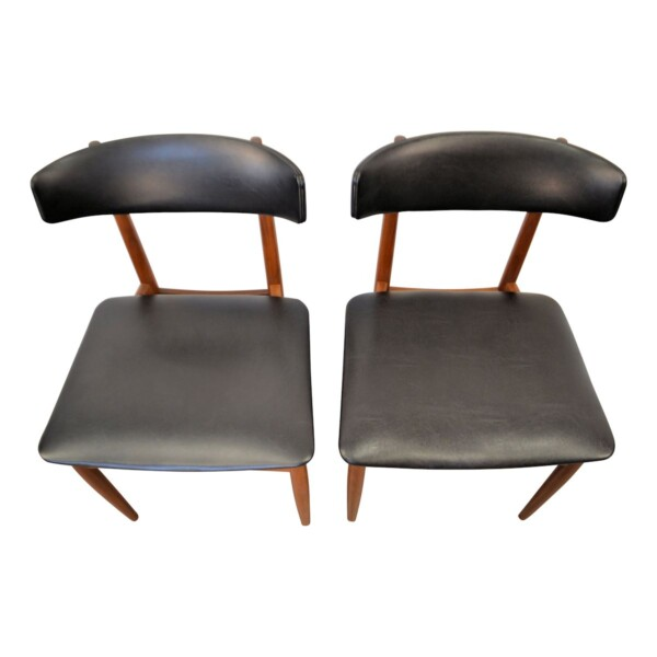Vintage Danish Teak Dining Chairs