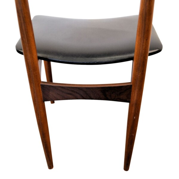 Vintage Danish Teak Dining Chairs - detail