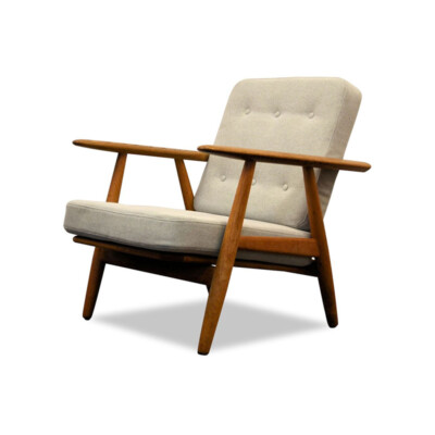 "Hans J. Wegner Lounge Chair Model GE-240  ""Cigar"""