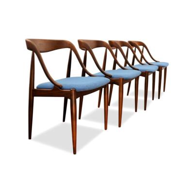 Vintage Teak Dining Chairs by Johannes Andersen