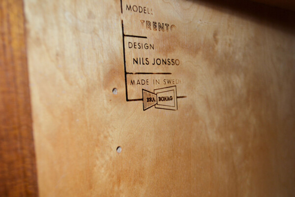 Vintage Nils Jonsson Model Trento Sideboard - Troeds branding
