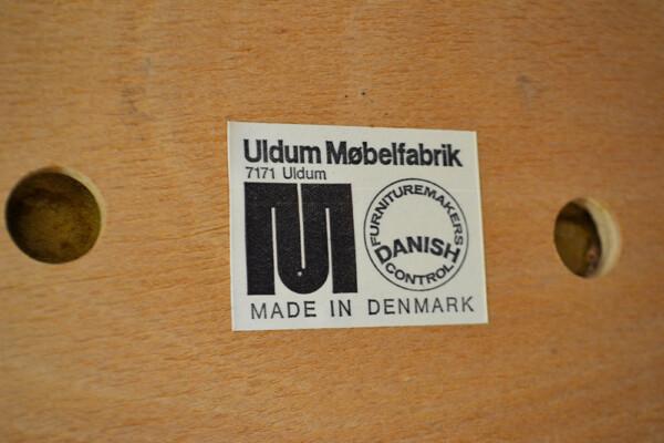 "Sticker ""Uldum Møbelfabrik"""
