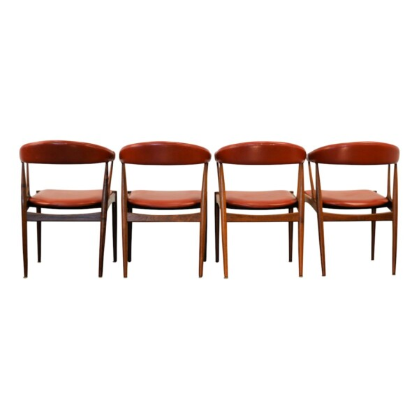 Vintage Dining Chairs by Johannes Andersen - back