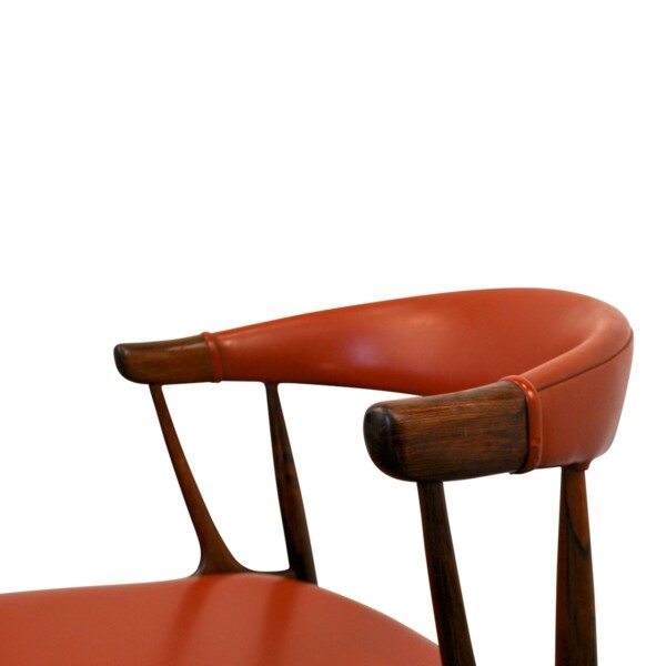 Vintage Dining Chairs by Johannes Andersen - backrest