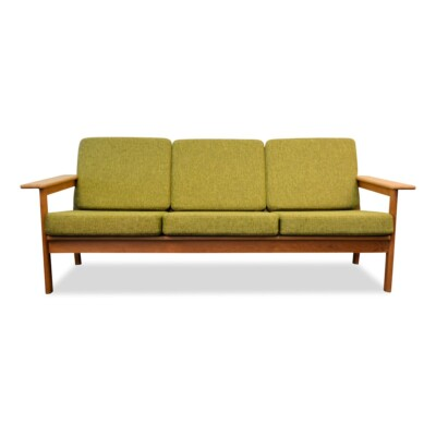 Vintage Three-seater Sofa by Borge Jensen