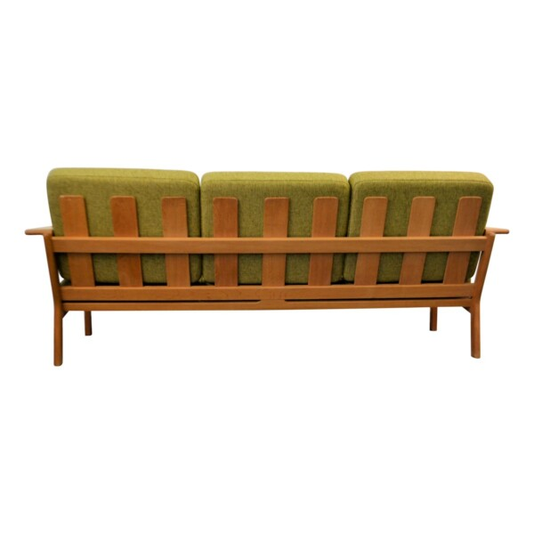 Vintage Three-seater Sofa by Borge Jensen - back