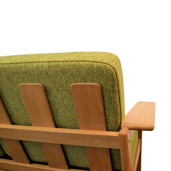 Vintage Three-seater Sofa by Borge Jensen - back detail