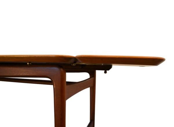 Vintage Peter Hvidt & Orla Mølgaard massief teak tafel