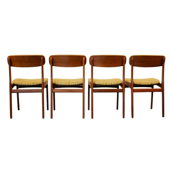Vintage Deense stijl teak stoelen
