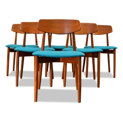 Vintage Harry Østergaard Dining Chairs