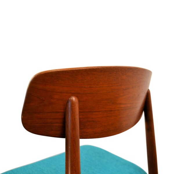 Vintage Harry Østergaard Dining Chairs - detail backrest