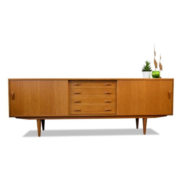 Vintage Clausen & Son eiken dressoir