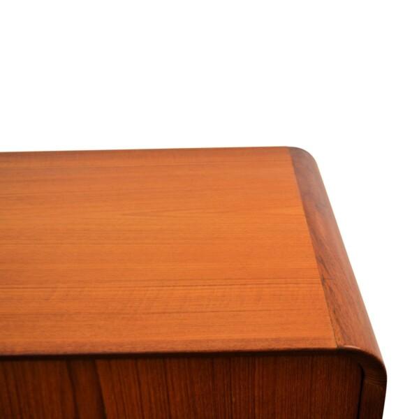 Vintage Teak Sideboard - rounded corners