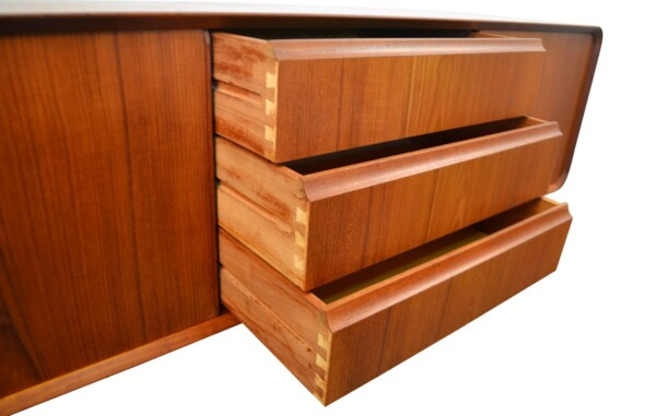 Vintage Teak Sideboard - drawers