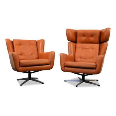 Vintage Skjold Sørensen Lounge Chairs