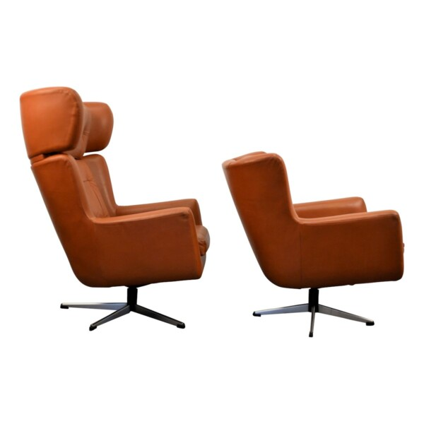 Vintage Skjold Sørensen Lounge Chairs - side