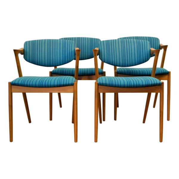 Vintage Kai Kristiansen Model #42 Dining Chairs