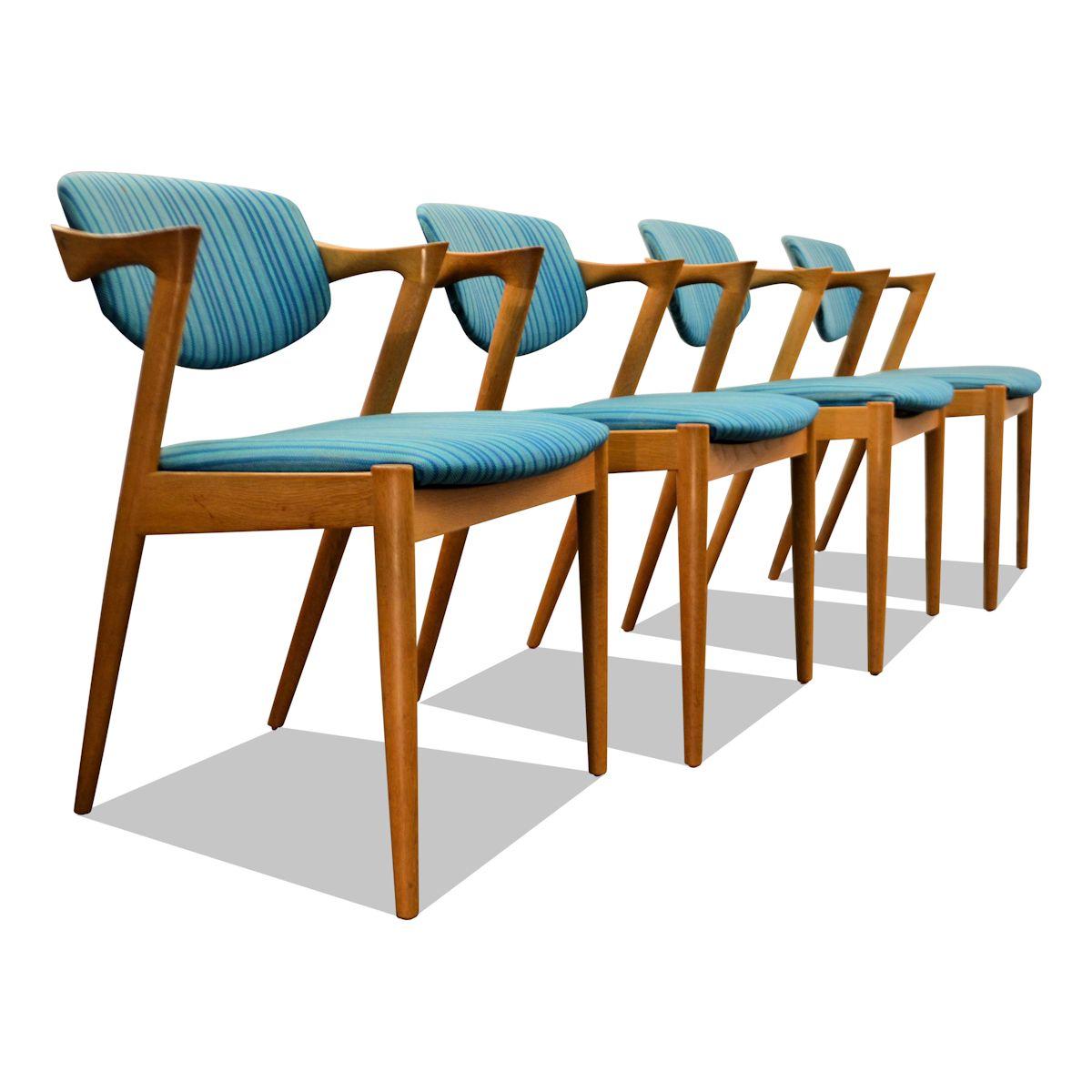 Kai Kristiansen #42 eiken stoelen