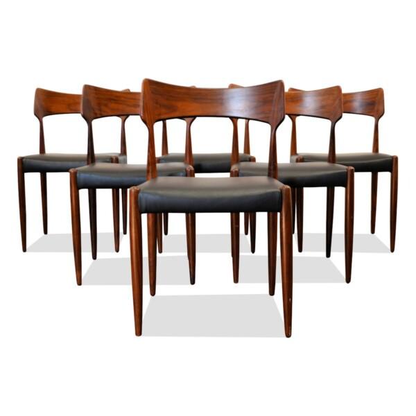 Vintage Bernhard Pedersen & Son Dining Chairs