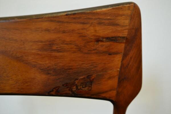 Vintage Bernhard Pedersen & Son Dining Chairs - detail