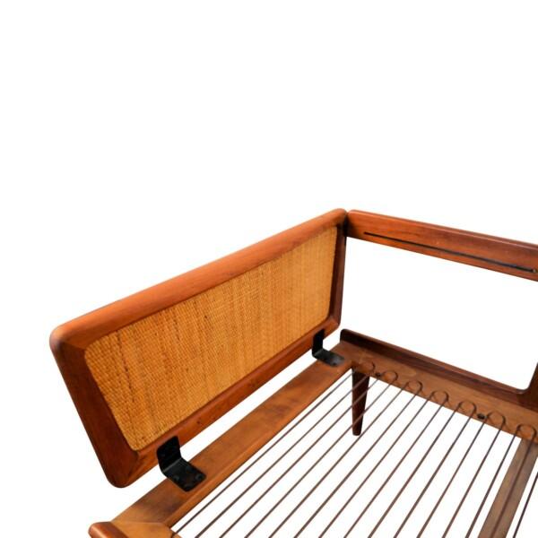 Vintage Peter Hvidt & Orla Mølgaard-Nielsen Model 451 Sofa - frame