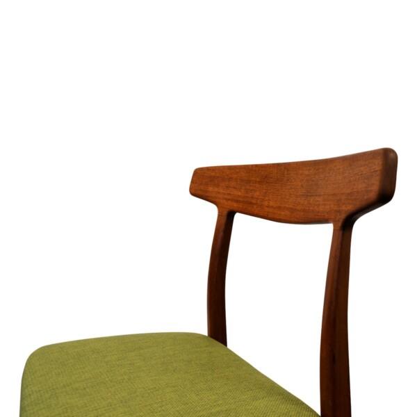Vintage Teak Henning Kjaernulf Dining Chairs - detail