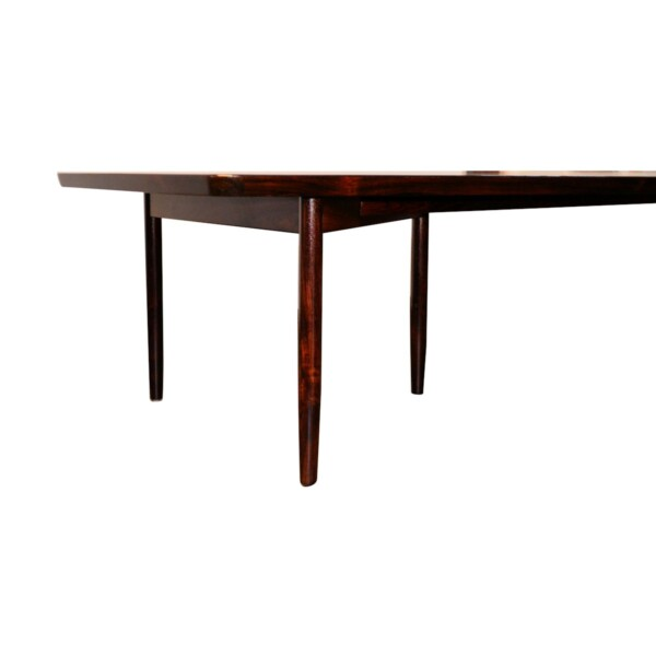 Vintage Rosewood Dining/Conference Table by Arne Vodder - detail