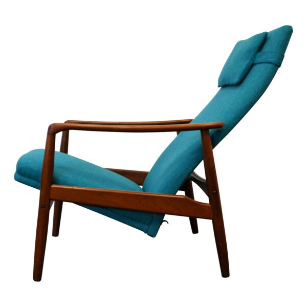 Vintage Søren Ladefoged Easy Chair - side