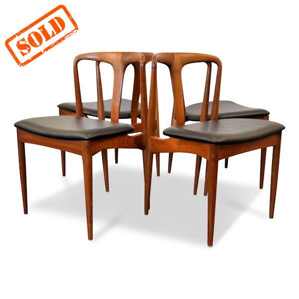 Pr Design Stoelen.Vintage Danish Design Johannes Andersen Dining Chairs