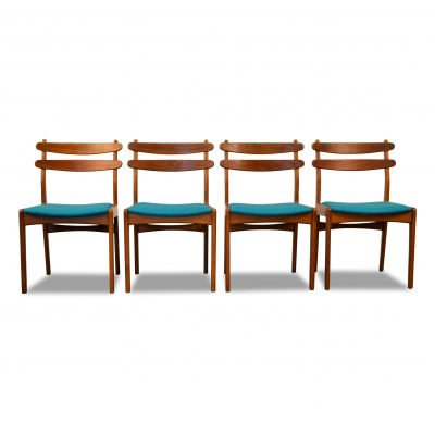 Vintage Dining Chairs by Slagelse Møbelvaerk