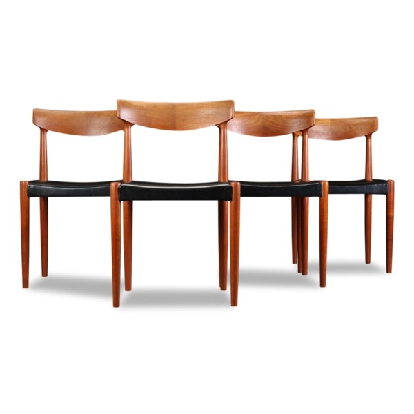 Vintage Teak Knud Faerch Dining Chairs