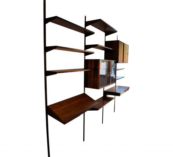 Vintage modular Palisander Kai Kristiansen wall-unit