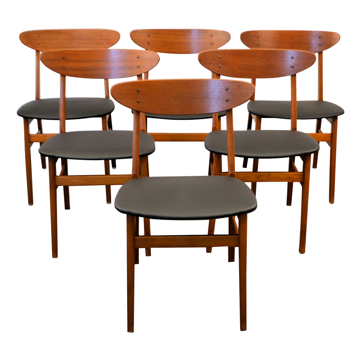 Prime Vintage Teak Knud Faerch Dining Chairs Vintage Vibes Squirreltailoven Fun Painted Chair Ideas Images Squirreltailovenorg