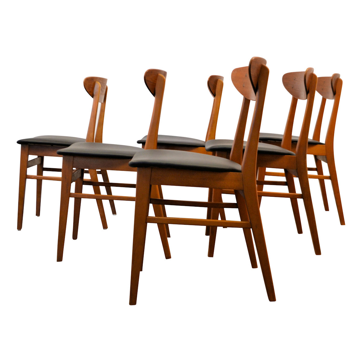 Terrific Vintage Teak Knud Faerch Dining Chairs Vintage Vibes Squirreltailoven Fun Painted Chair Ideas Images Squirreltailovenorg
